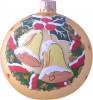 Шар Д=8см, Праздничные колокольчики, в подарочной упаковке КУ-80-14222
