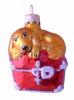 Собачка на сундуке 8см, б/упак. Ф-269