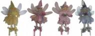 Кукла Фея с крыльями 23см, 4цв.  мягкая Е 70514