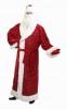 Костюм Дед Мороз с блест. (шуба, борода, шапка, кушак, рукавицы) Е 0408