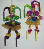 Кукла Клоун 23см, 2 цв., мягк.  Е 80170