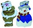 Кукла Дед Мороз/Снеговик 30см  Е 92053