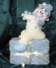 Кукла Снеговик 25см на коробке с подарками  EG43-4021B