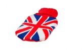 Грелка в чехле син. с британским флагом 10013