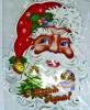 Панно Дед Мороз 75*60см Е 92285