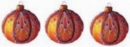 Набор шаров Д=8,5см*2шт. Утонченный, в подарочной упаковке КН-85-1251