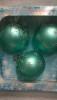 Набор шаров Д=8см*3шт. Оригинальный, в подарочной упаковке КН-80-1212