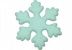 Снежинка 30см заснеж., толстая, белый  Е 60165