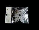 Снежинка 18,5см зеркальная серия Е 91070