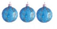 Набор шаров Д=6см*3шт. Гармония, в подарочной упаковке КНГ-60-3175