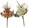 Цветок Роза с блест. лепестками Е 91418