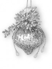Украшение Ассорти Кристалл 13-19см, 4в. 103444