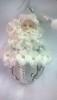 Дед Мороз на шаре 8см 105240