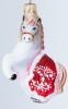 Лошадка в красной попоне в инд. упк. ГФ-186