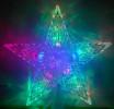 Макушка Звезда WN LED мульти, переливается из середины в края, малая Win3901013
