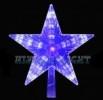 Макушка Звезда WN LED сине-белая, переливается из середины в края, большая