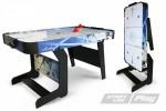 Аэрохоккей StartLine Play Compact lce 5' (1524*762*780 мм)