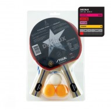 Набор для настольного тенниса STIGA Decrux 2 ракетки, 3 мяча, сетка 1843-01