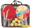 Набор для настольного тенниса START LINE 4 ракетки-Level 200+6 мяч.-Club Select+сетка с креп  61-453