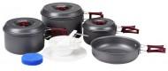 Набор алюминиевой посуды BOYSCOUT с антипригарным покрытием на 5-6 персон 61167
