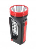 Фонарь-прожектор SmartBuy аккумуляторный 2 в 1, 1W+18 Led, адаптер 220V (SBF-303-K) 7318