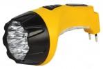Фонарь SmartBuy светильник аккумуляторный, 220V, 15W+10 Led, желтый (SBF-89-Y) 7290