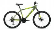 Велосипед 26' хардтейл, рама алюминий ALTAIR AL 26 D зеленый, диск, 21 ск., 17' RBKN9M66Q017