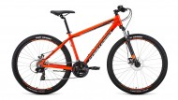 Велосипед 27,5' хардтейл, рама алюм. FORWARD APACHE 27,5 2.0 disc оран./чер., 21ск., 15' RBKW0M67