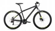 Велосипед 27,5' хардтейл, рама алюм. FORWARD APACHE 27,5 3.0 disc черн. мат, 21ск., 21' RBKW0M67Q010