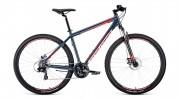 Велосипед 29' хардтейл, рама алюминий FORWARD APACHE 29 2.0 disc синий, 21 ск., 19' RBKW0M69Q003