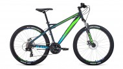 Велосипед 26' хардтейл FORWARD FLASH 26 2.0 disc серый мат., диск, 21 ск., 15' RBKW9MN6Q019