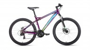 Велосипед 26' хардтейл FORWARD FLASH 26 2.0 disc фиолетовый, диск, 21 ск., 15 RBKW9MN6Q020