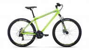 Велосипед 27,5' хардтейл FORWARD SPORTING 27,5 2.0 disc св.-зеленый/серый, диск, 21 ск., 17' RB
