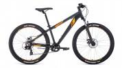 Велосипед 26' хардтейл, рама алюминий FORWARD TORONTO 26 2.0 disc, черный, 7 ск., 14' RBKW0M667002