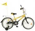 Велосипед 16' NOVATRACK R ТАКСИ черный/желтый 167 TAXI.YL 6