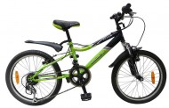 Велосипед 20' хардтейл NOVATRACK FLYER зеленый, 12 ск. 20SH 12V.FLYER.GN 7 (20)