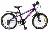 Велосипед 20' хардтейл, рама алюминий NOVATRACK NEON фиолетовый, 6 ск. 20 AH 6 V.NEON.VL 5