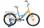 Велосипед 20' рама женская ALTAIR CITY GIRL желтый/синий, 13' RBKT74N01003