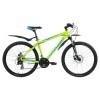 Велосипед FORWARD 26' хардтейл, рама алюминий, APACHE 2.0 disc диск, зеленый, 21ск., RBKW7M66Q044