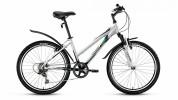 Велосипед 24' хардтейл, рама женская, алюминий FORWARD SEIDO 1.0 белый, 6ск. RBKW76646003 (19)