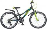 Велосипед NOVATRACK 24' хардтейл, рама алюминий, ACTION черный, 21ск., 12' 24AH 21SV.ACTION.12 BK7