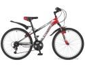 Велосипед STINGER 24' хардтейл, CAIMAN красный, 18 ск., 14' 24 SHV.CAIMAN.14 RD 7