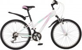 Велосипед STINGER 24' хардтейл, рама женская LATINA белый, 12,5' 24 SHV.LATINA.12 WH 7