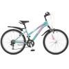 Велосипед STINGER 24' хардтейл, рама женская LATINA аквамарин, 14' 24 SHV.LATINA.14 TQ 7