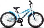 Велосипед 20' хардтейл, рама алюминий STELS PILOT-210 GENT белый/синий, 1 ск.