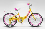 Велосипед 20' хардтейл, рама женская, алюминий STELS PILOT-210 LADY желтый/розовый/белый, 1 ск.