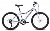 Велосипед 24' хардтейл MAVERICK  рама женская, алюминий, D 42 диск, белый, 7 ск.
