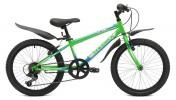 Велосипед MAVERICK 20' хардтейл, K 36 зеленый, 6 ск.