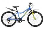 Велосипед MAVERICK 24' хардтейл, D 40 синий, 7 ск.