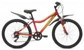 Велосипед MAVERICK 24' хардтейл, рама алюминий, D 40 AL темно-красный, 7 ск.